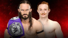 Cruiserweight Champion Neville vs Jack Gallagher