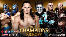 Neville & The Lucha Dragons vs The Cosmic Wasteland