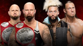 Raw Tag Team Champions Luke Gallows et Karl Anderson vs Enzo Amore et Big Cass