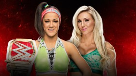 Raw Women's Champion Bayley vs Charlotte Flair