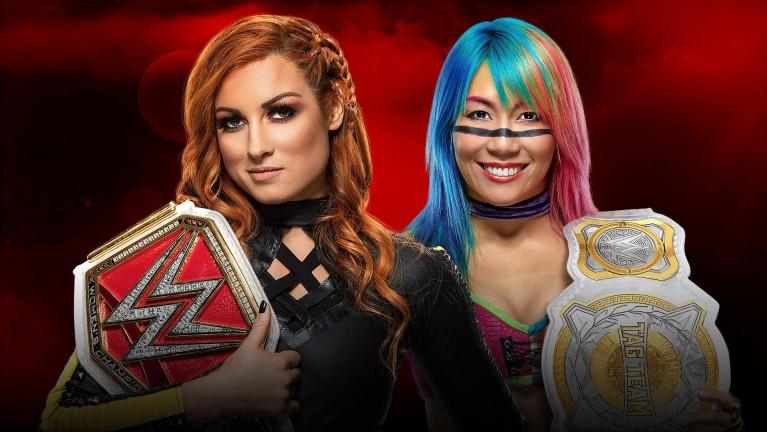 Raw Women's Champion Becky Lynch vs. Asuka