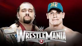 Rusev vs John Cena