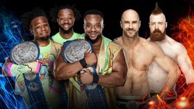 SmackDown Tag Team Champions The New Day vs The Bar