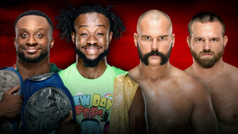 SmackDown Tag Team Champions The New Day vs. The Revival