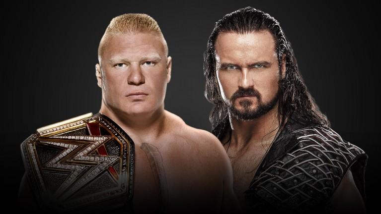 WWE Champion Brock Lesnar vs. Drew McIntyre