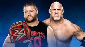 WWE Universal Champion Kevin Owens vs Goldberg
