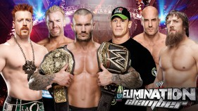 WWE World Heavyweight Championship Elimination Chamber Match