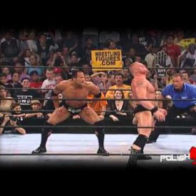 Brock Lesnar vs The Rock