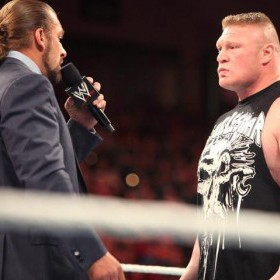 Brock Lesnar vs Triple H : Rematch à Hell In A Cell ?