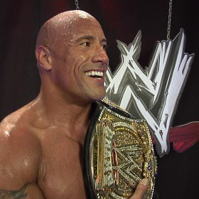 The Rock à Elimination chamber