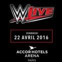 WWE à Paris Bercy le 22 avril 2016