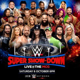WWE Super ShowDown sur AB1