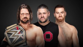 AJ Styles vs Kevin Owens et Sami Zayn - 2-on-1 Handicap Match