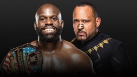 Affiche du Apollo Crews vs. MVP - U.S. Title Match à Extreme Rules 2020