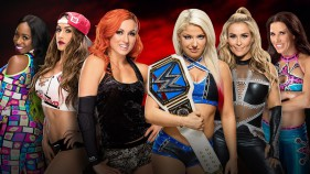 Becky Lynch, Nikki Bella et Naomi vs Alexa Bliss, Mickie James et Natalya