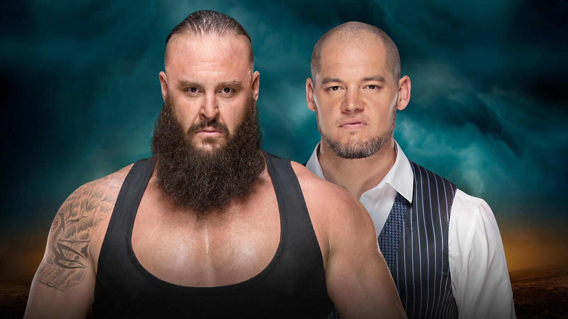 Braun Strowman vs Baron Corbin (Tables, Ladders & Chairs Match)