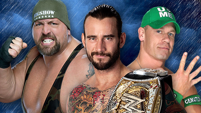 CM Punk vs John Cena vs Big Show