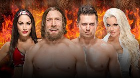 Daniel Bryan et Brie Bella vs The Miz et Maryse