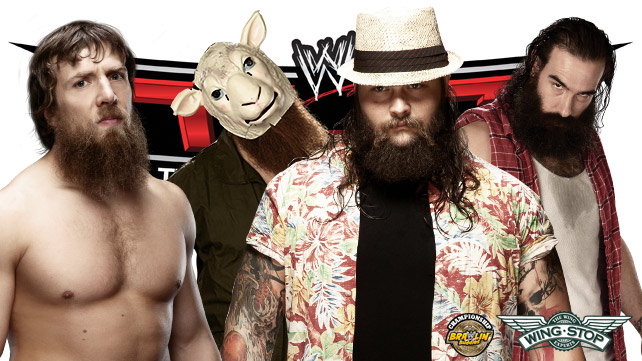 Daniel Bryan vs The Wyatt Family