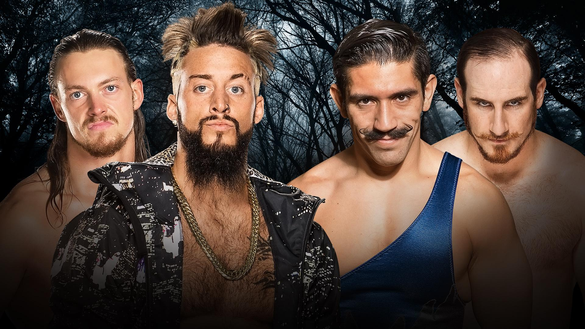 Enzo Amore et Colin Cassady vs The Vaudevillains (WWE Tag Team Championship No. 1 Contenders Tournament Final)
