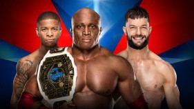 Intercontinental Champion Bobby Lashley et Lio Rush vs Finn Bálor (Handicap Match)