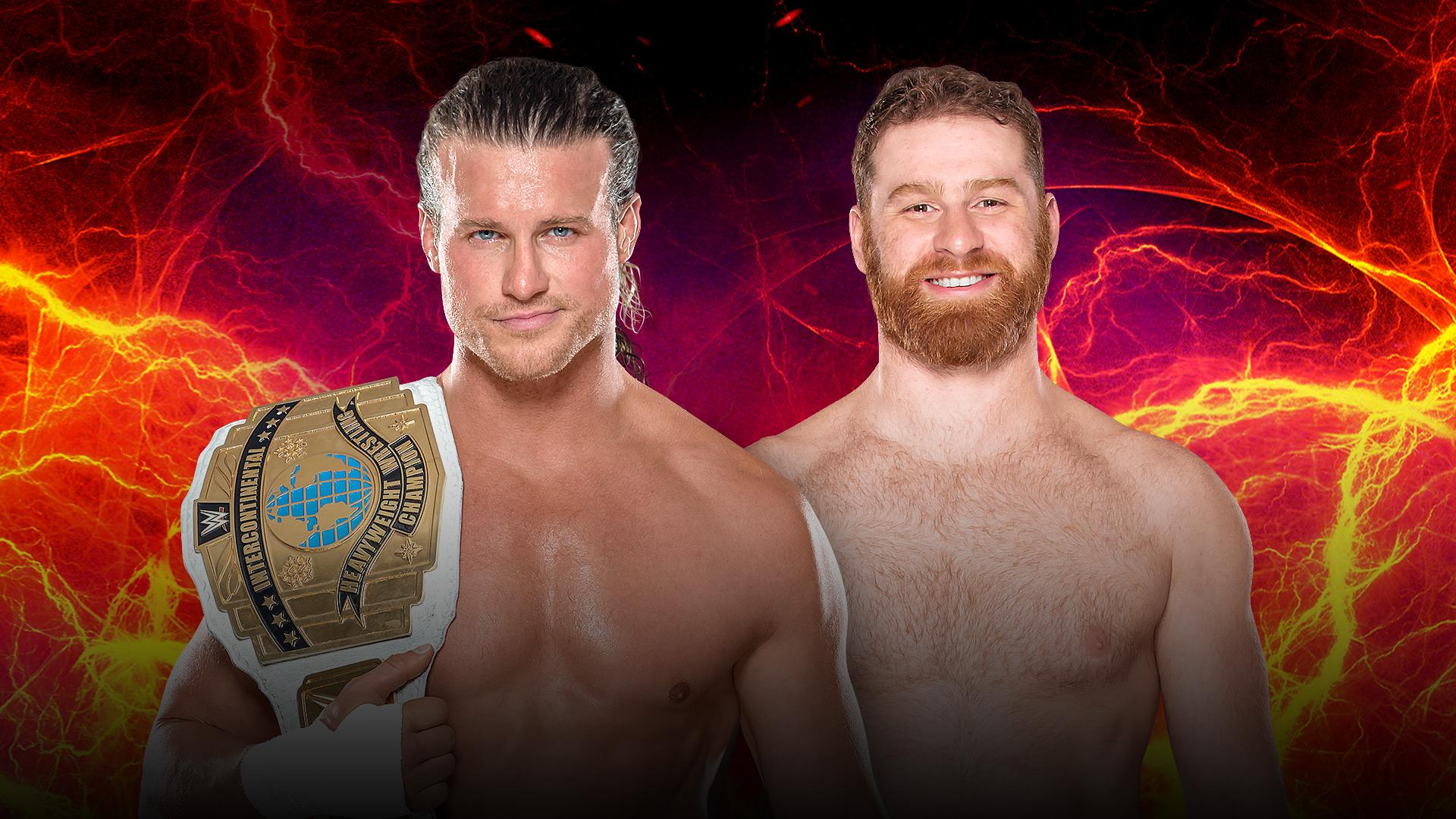 Intercontinental Champion Dolph Ziggler vs Sami Zayn