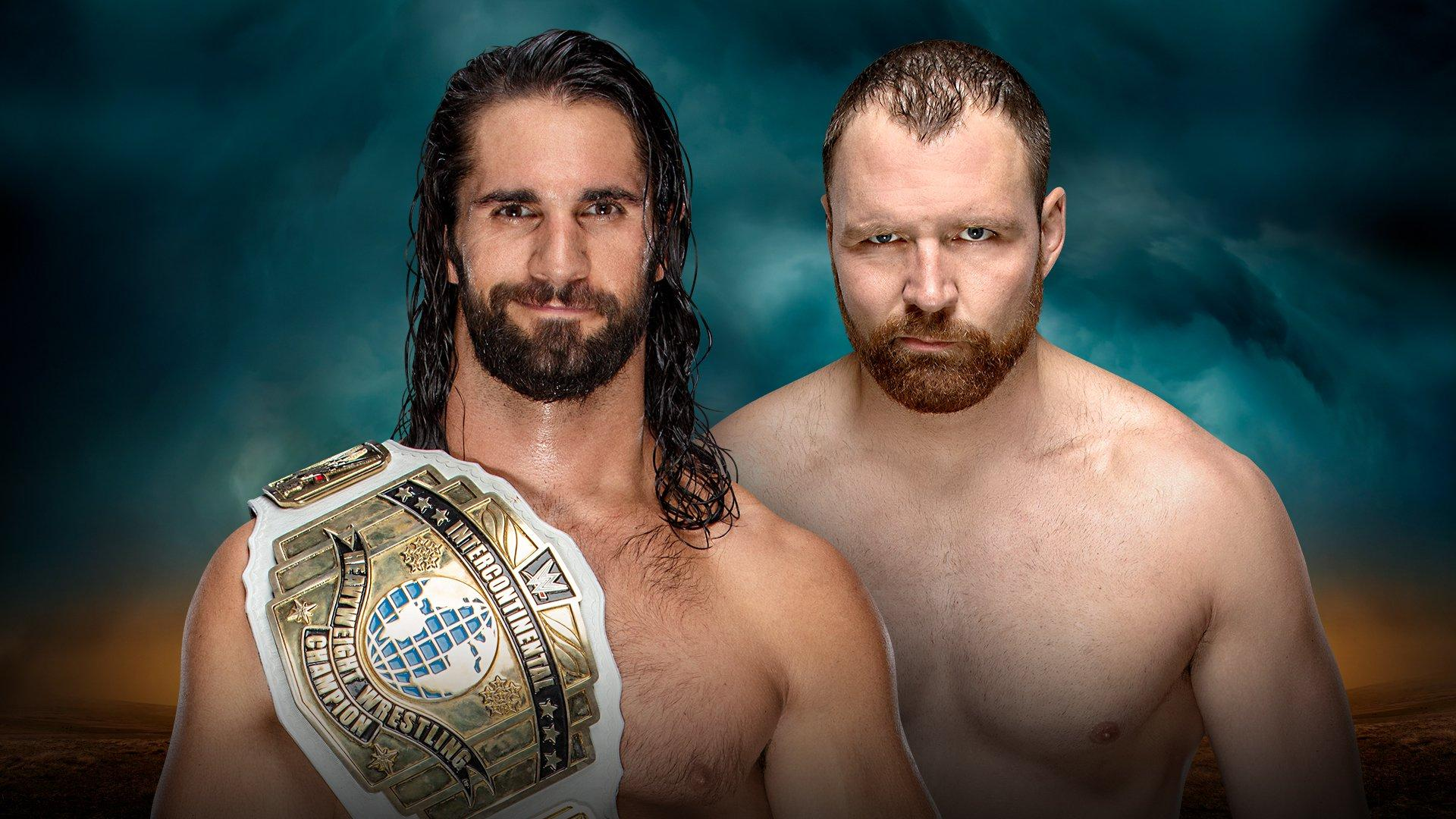Intercontinental Champion Seth Rollins vs Dean Ambrose