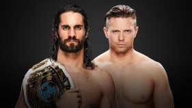 Intercontinental Champion Seth Rollins vs The Miz
