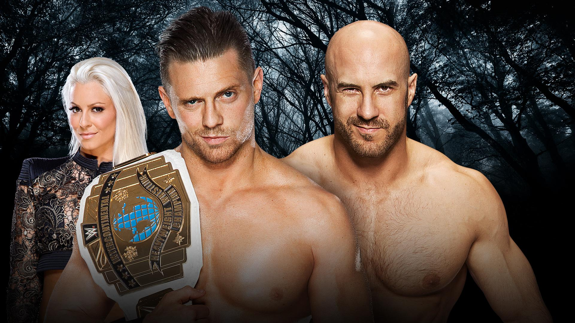 Intercontinental Champion The Miz vs Cesaro