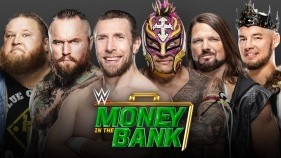 Affiche du Men's Money in the Bank Ladder Match à Money In The Bank 2020