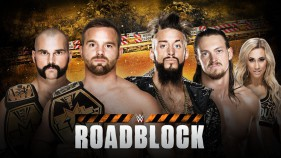 Affiche du NXT Tag Team Champions The Revival vs Enzo Amore et Colin Cassady à Roadblock 2016