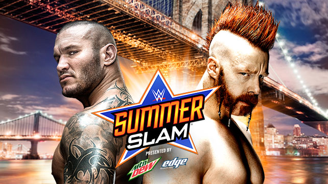 Randy Orton vs Sheamus