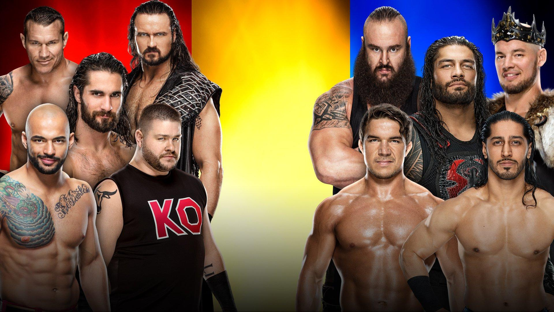 Raw, SmackDown and NXT teams to battle in Men's Survivor Series Elimination Triple Threat Match