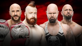 Raw Tag Team Champions Cesaro et Sheamus vs Luke Gallows et Karl Anderson