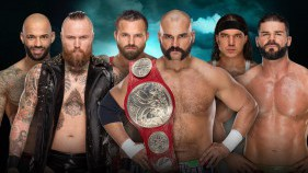 Raw Tag Team Champions The Revival vs Aleister Black et Ricochet vs Chad Gable et Bobby Roode