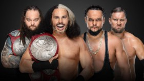 "Raw Tag Team Champions ""Woken"" Matt Hardy & Bray Wyatt vs The B-Team"