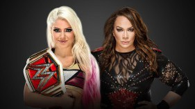 Raw Women's Champion Alexa Bliss vs Nia Jax