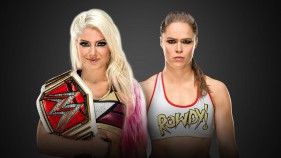 Raw Women's Champion Alexa Bliss vs Ronda Rousey