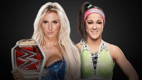 Raw Women's Champion Charlotte Flair vs Bayley