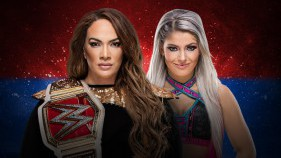 Raw Women's Champion Nia Jax vs Alexa Bliss