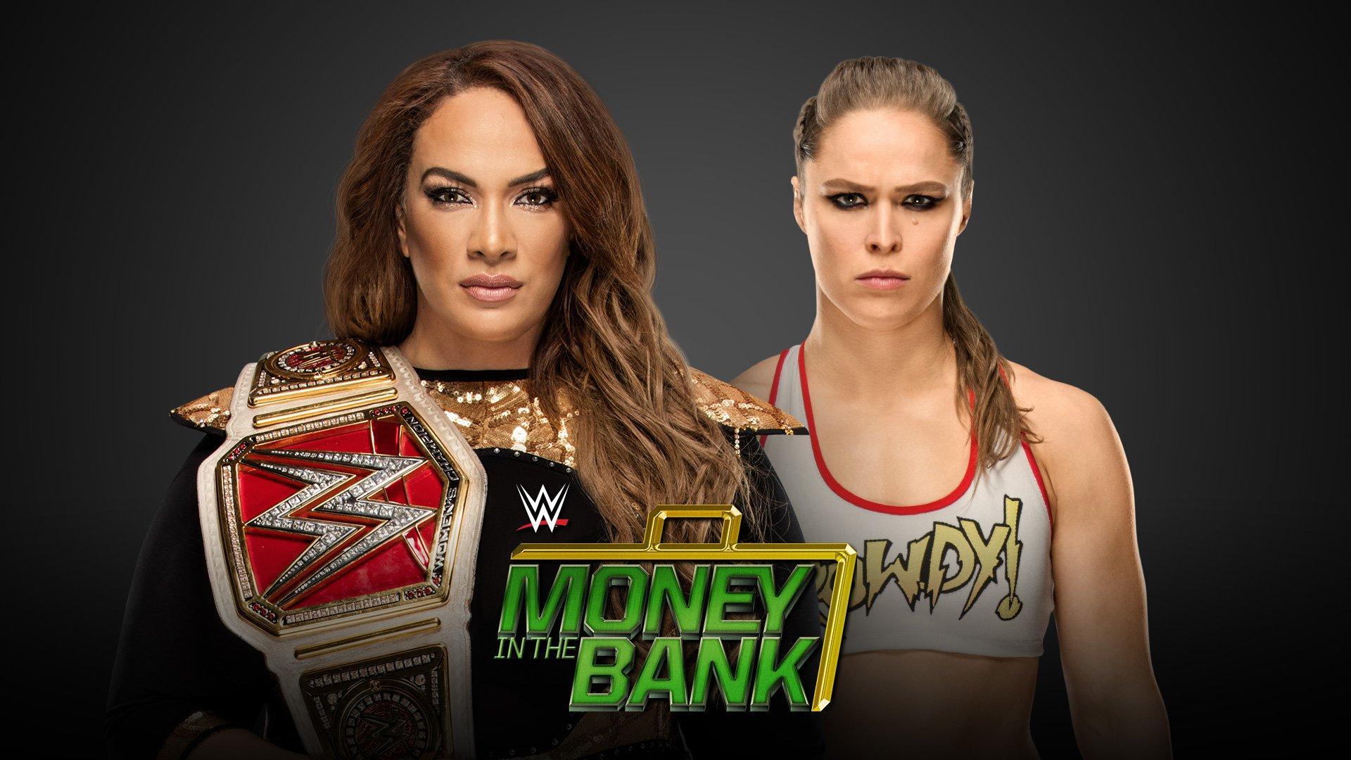 Raw Women's Champion Nia Jax vs Ronda Rousey