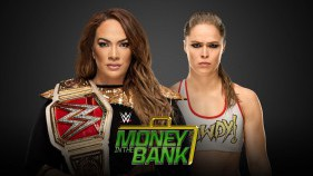 Raw Women's Champion Nia Jax vs Ronda Rousey