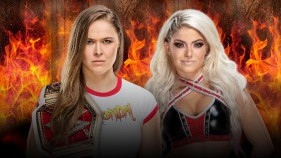 Raw Women's Champion Ronda Rousey vs Alexa Bliss