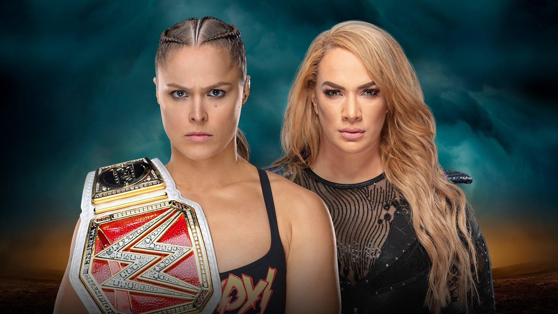 Raw Women's Champion Ronda Rousey vs Nia Jax