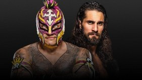 Affiche du Rey Mysterio vs. Seth Rollins - Eye for an Eye Match à Extreme Rules 2020