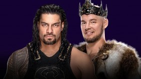 Roman Reigns vs. King Corbin (Steel Cage Match)
