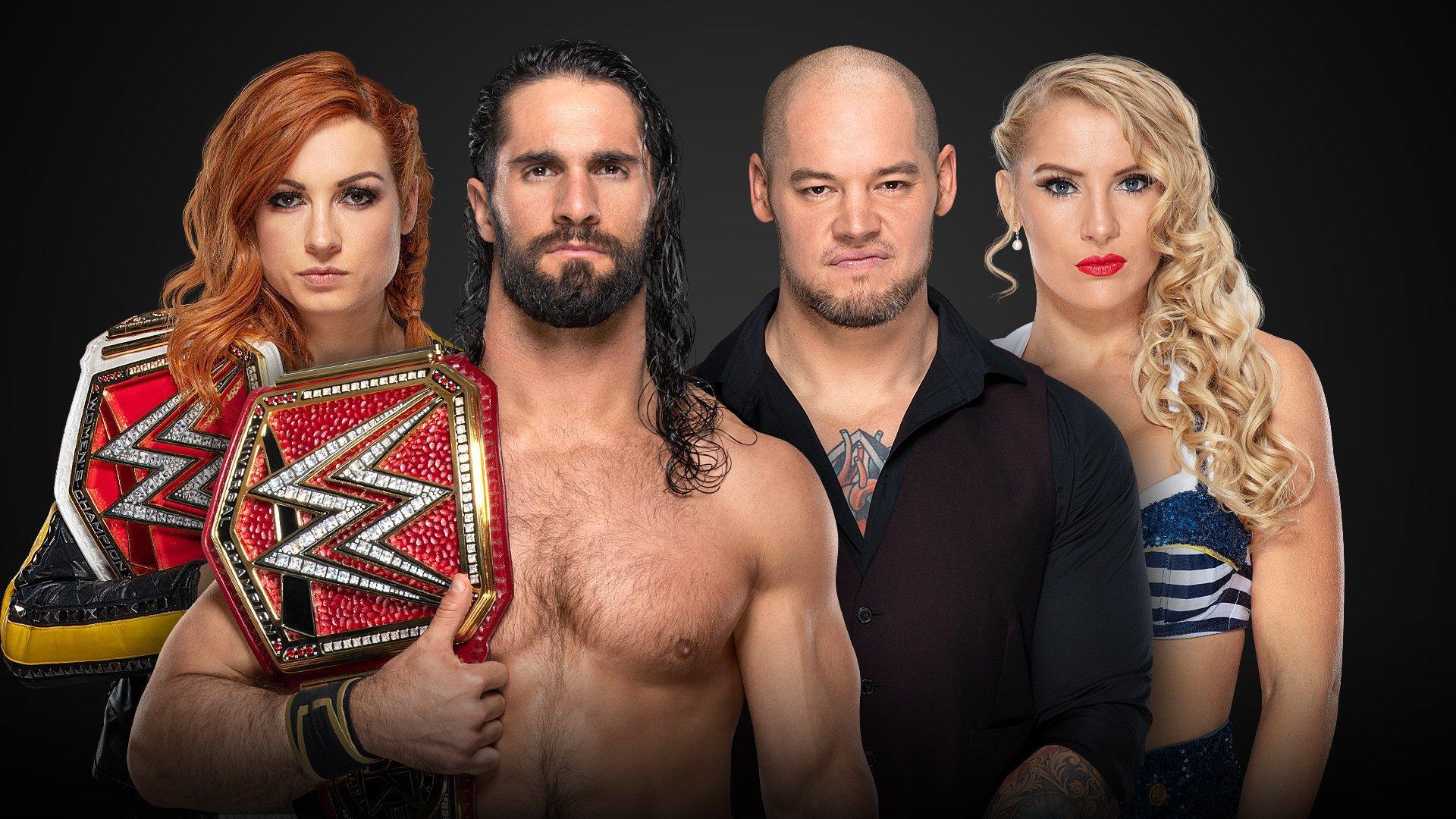 Seth Rollins et Becky Lynch vs Baron Corbin et Lacey Evans