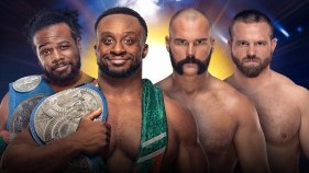 SmackDown Tag Team Champions Big E et Xavier Woods vs The Revival