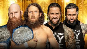 SmackDown Tag Team Champions Daniel Bryan et Rowan vs The Usos