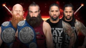 SmackDown Tag Team Champions The Bludgeon Brothers vs The Usos